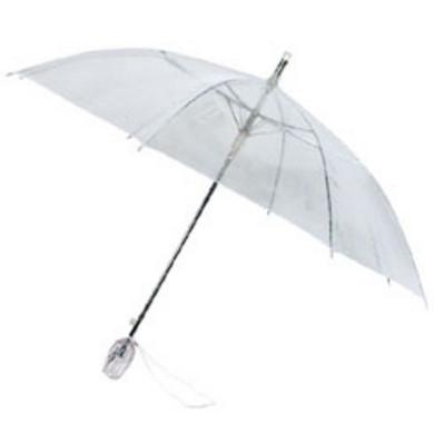 Doorzichtige paraplu tulp