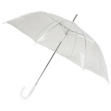 Doorzichtige paraplu (breed)