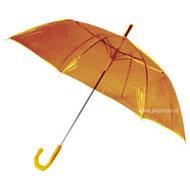 transparante-paraplu-oranje